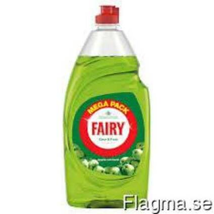 Fairy apple, fairy original, lemon, pomegrated 250ml and 50