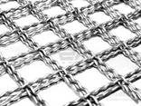 Crimped steel wire mesh and products made of it - фото 1