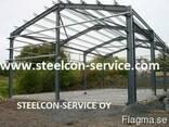 Frame steel halls - photo 2