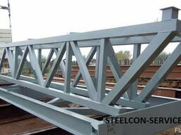 Frame steel halls - photo 3