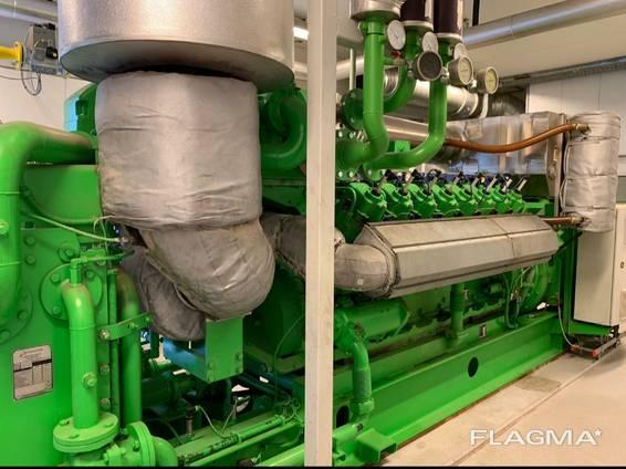 Газопоршневой двигатель Jenbacher J416, 2007 г. в.