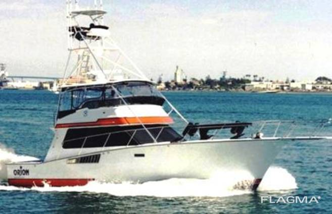 Изготавливаем 50 футовые моторные яхты типа Atlantic50 Sport Fisherman .