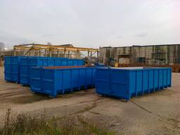 Dumpers, Hook lift Containers, Krok